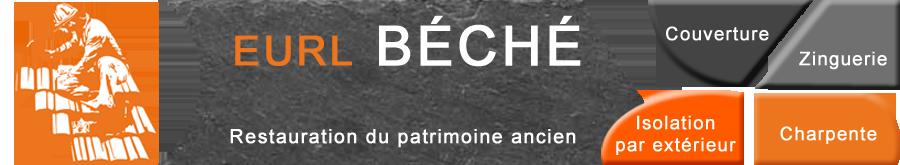 Eurl BECHE - Couverture - Charpente - Zinguerie
